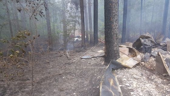 NFP-9 Camp fire 1