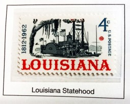 1962 Louisiana Statehood - 150th