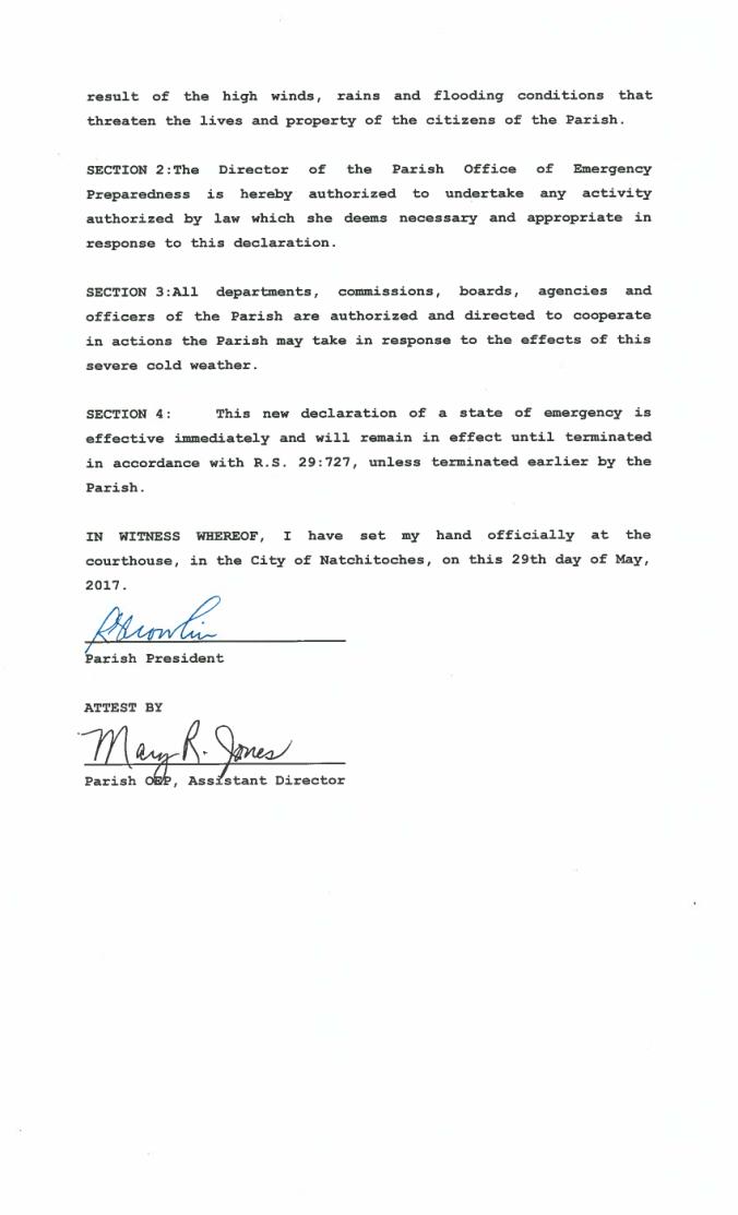 Emer Declaration - Weather 2017-05-292
