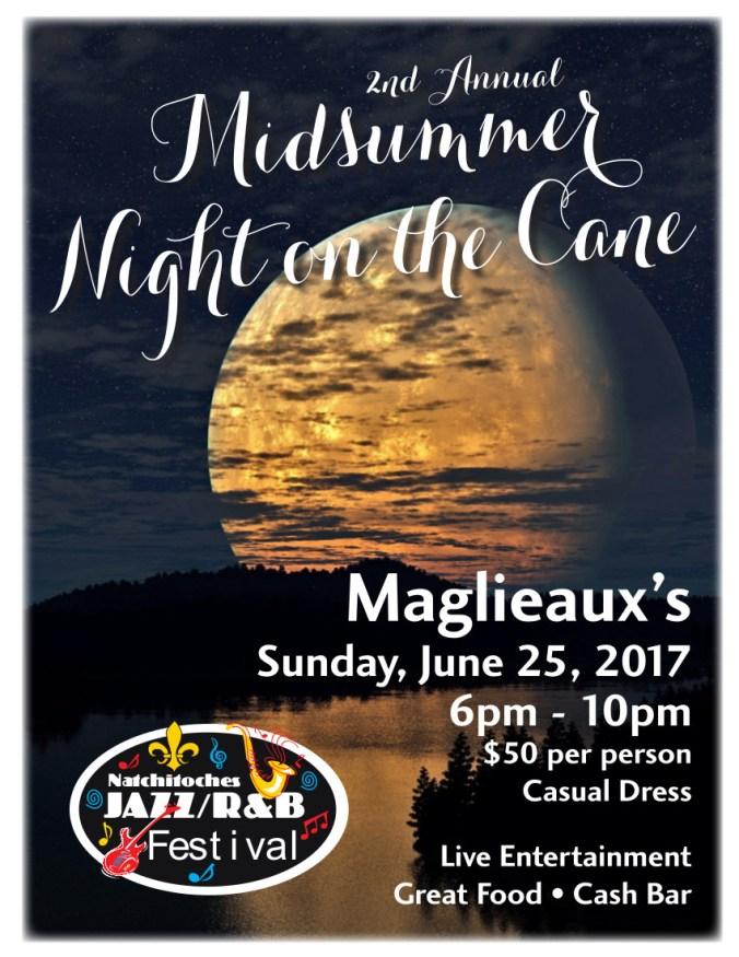 Jazz Festival - Midsummer flyer