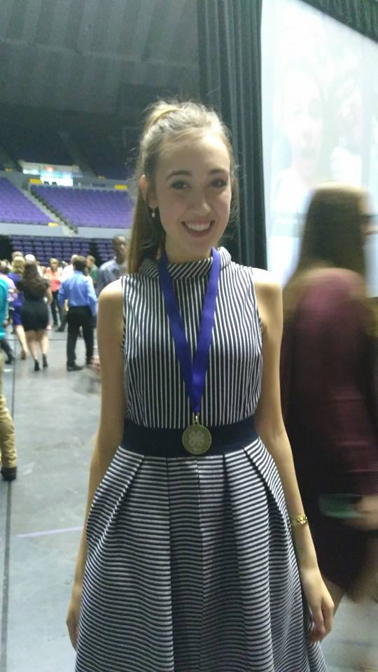 Jill, 10th place Public Speaking
