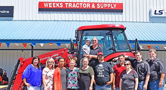 Weeks Tractor