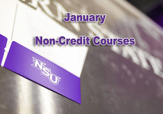 January Non-Credit