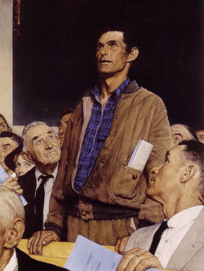 Norman Rockwell's Freedom of Speech.png