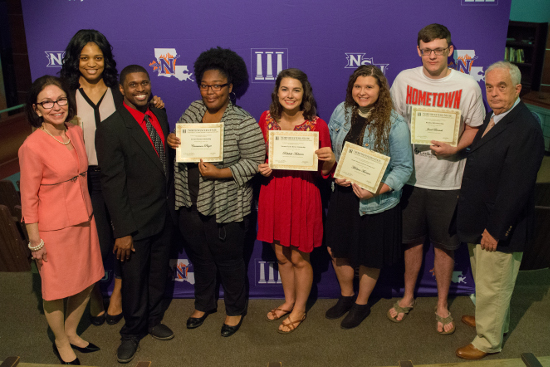 New Media Scholarship winners