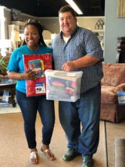 Ivan Smith Furniture In Natchitoches Fulfills Area Teacher S Wish