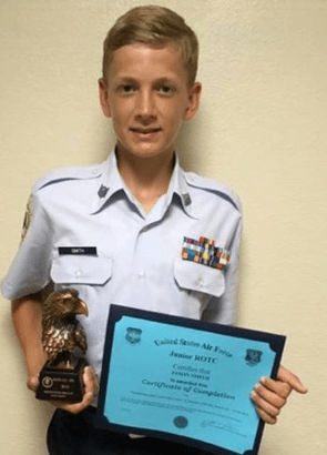 Lakeview Air Force JROTC cadets attend Cadet Leadership