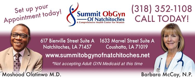 Summit OBGYN to open facility in Coushatta, Louisiana