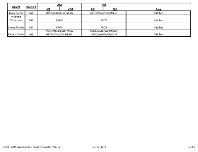 NPSB Bus Matrix 8-14-18 Rev 8-15-18-6