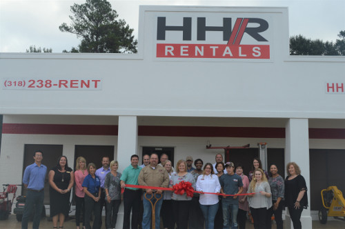 HHR Rentals ribbon cutting
