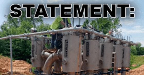 Pump statement