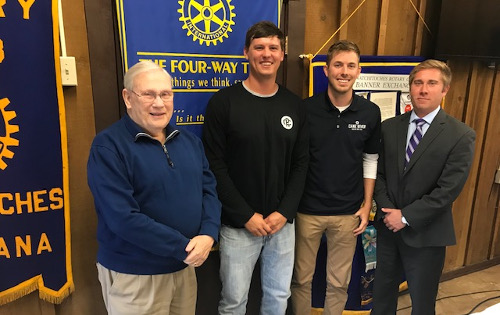Cane River Brewer Rotary Meeting 10_16_18