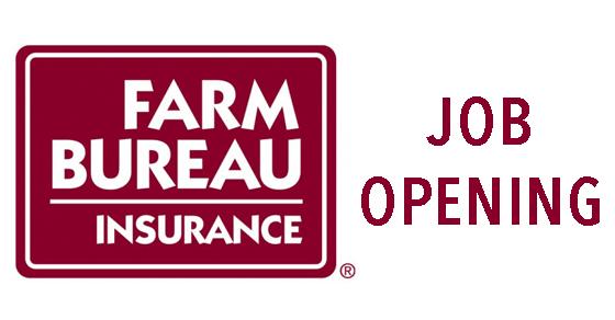 Farm Bureau Job Opening