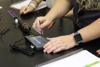 LSMSA-radiation monitors in Lab