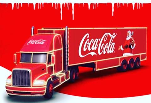 Coca-Cola Christmas Truck 2018
