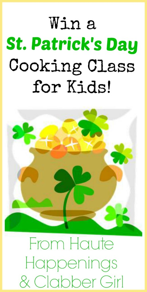 Terre Haute Events for Kids--St. Patrick's Day Cooking Class