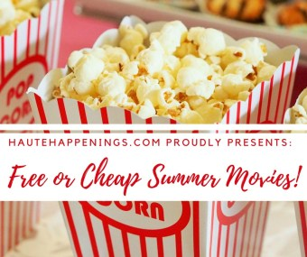 Free or cheap summer movies in the Wabash Valley!
