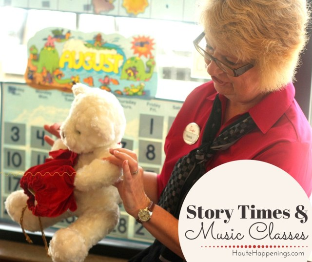 Music Classes and Story Time Events in Terre Haute