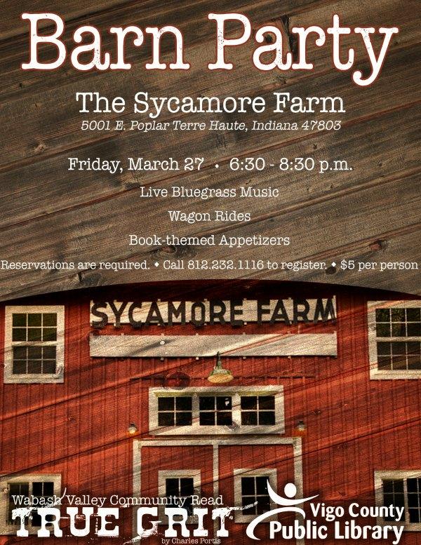 Wabash Valley Community Read Barn Party
