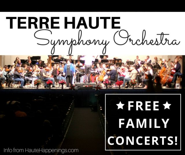 Introduce your kids to classical music by taking them to the Terre Haute Symphony Orchestra's free family time concerts and rehearsals!