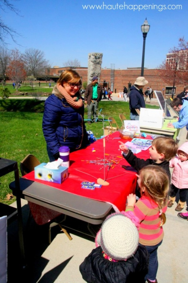 Info and dates for Indiana State University Earth Day activities