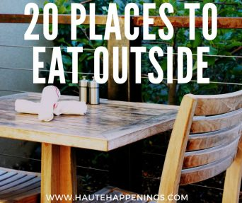 20 places to eat outside in Terre Haute