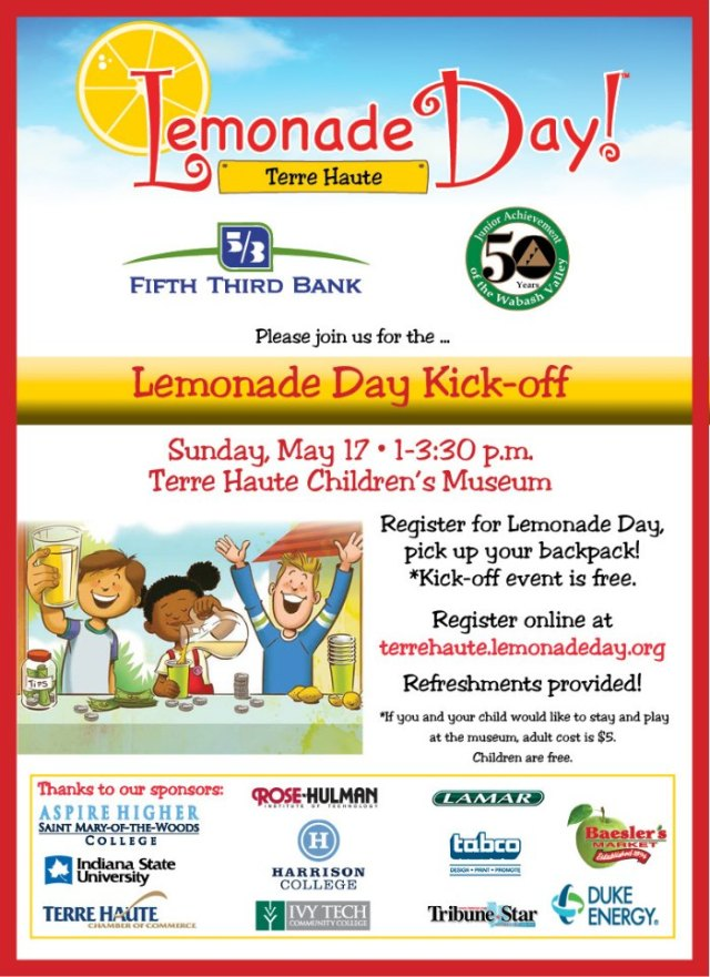 Terre Haute Lemonade Day Kick-Off Event