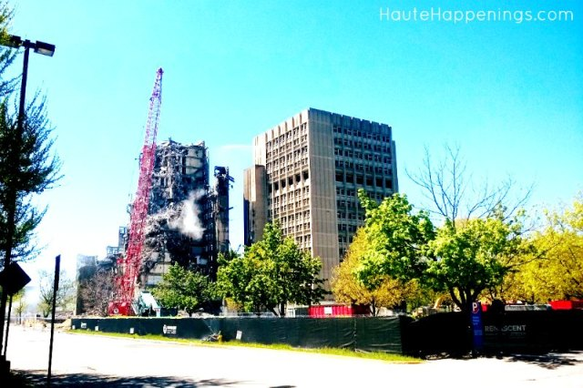When and where to see the demolition of the Statesman Towers