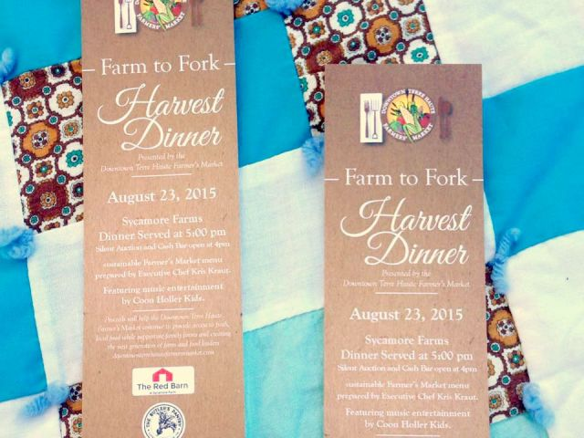 2015 Farm to Fork Event in Terre Haute, Indiana