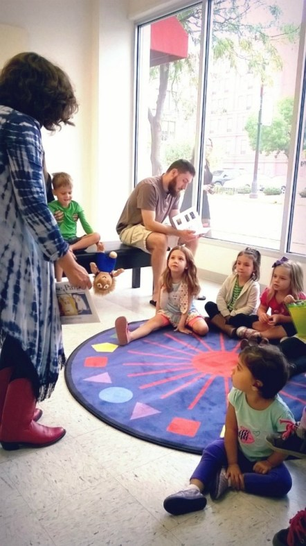 Art Start Preschool Program at the Swope Art Museum