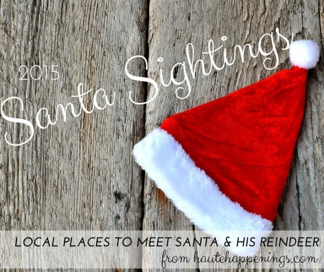 Where to see Santa in Terre Haute and the Wabash Valley