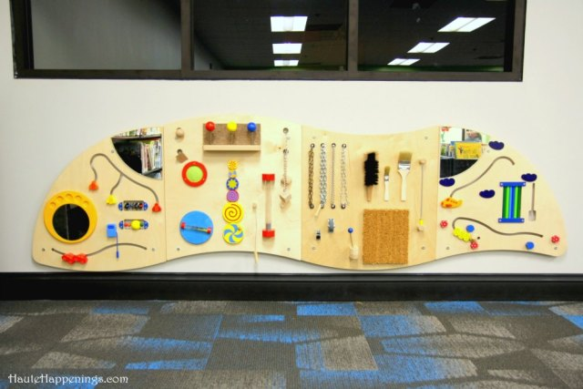 The new Youth Services Department at the Vigo County Public Library