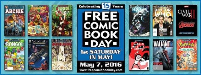 free comic book day 2016 2