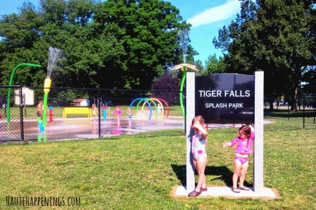Tiger Falls Splash Park in Paris, IL