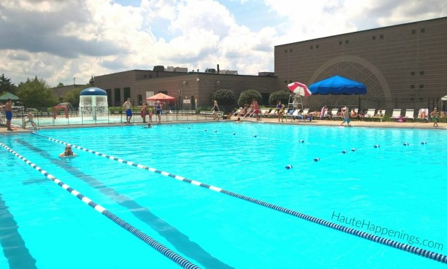 Fishers YMCA water park and pool