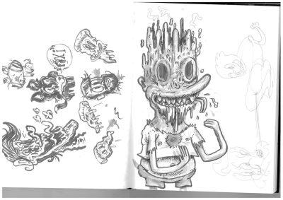 bart-sketch