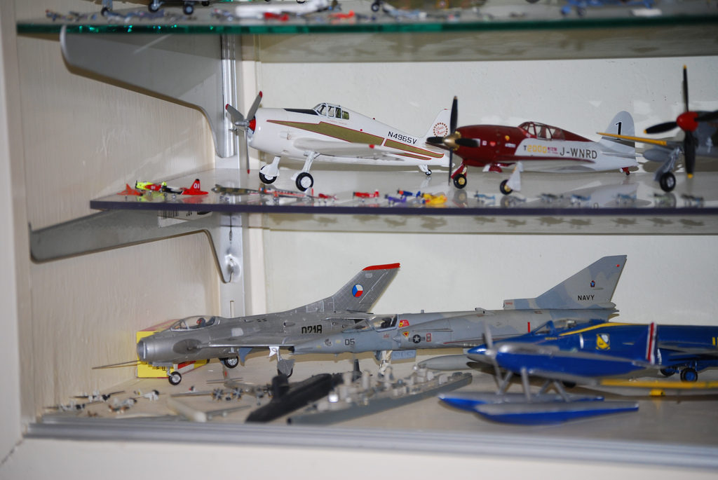 plane models by Bill Abbott