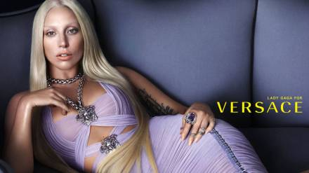 LADY GAGA FOR VERSACE - Courtesy Versace