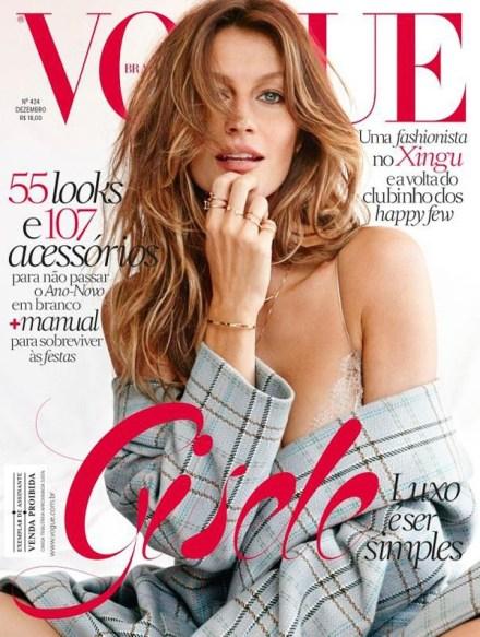 VOGUE BRAZIL COVER – DECEMBER 2013