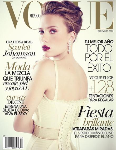 VOGUE MEXICO COVER – DECEMBER 2013