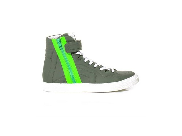 pierre-hardy-neon-zip-leather-trainers