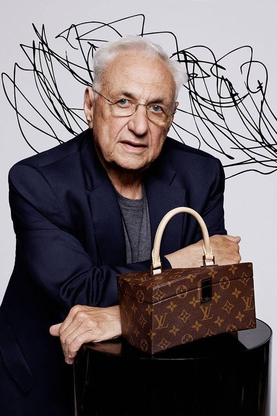 Louis Vuitton 168th Anniversary of Monogram with Frank Gehry