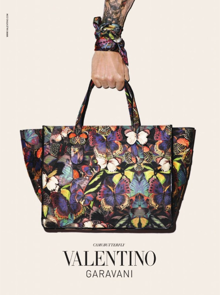 Valentino | Camu Butterfly Ad Campaign by Terry Richardson