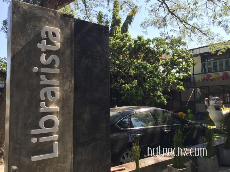 Librarista Chiang Mai : Library Cafe