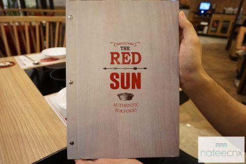 รวมเมนู ของร้าน เรดซัน ไทยแลนด์ | All Menu The Red Sun Thailand