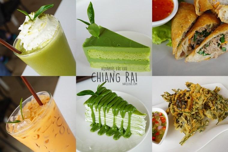 Drinks, Cakes and Foods at Choui Fong Tea House | Chiang Rai