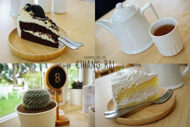 Cake and Tea at Eat Sleep Cafe & Bed   Chiang Rai