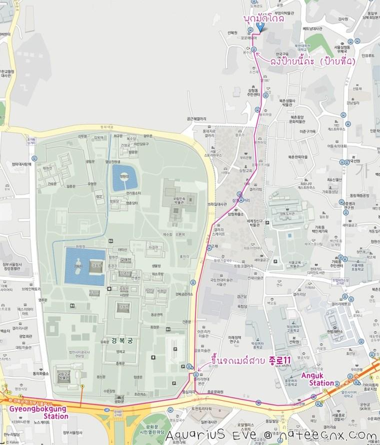 북막골 | Bugmaggol Map