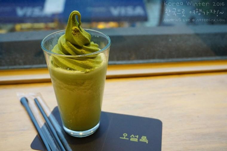 Fredo Green Tea (오설록 녹차오프레도) 오설록티하우스 인사동점   O´sulloc Tea House, Insa-dong