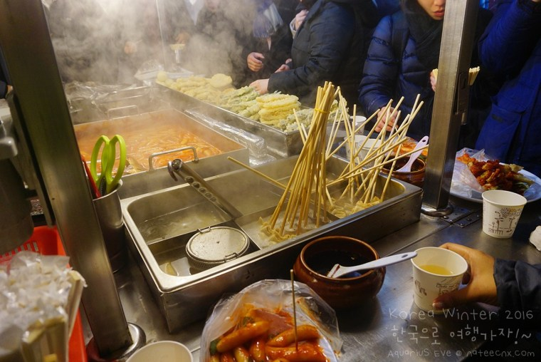 Korea Street Food at Hongdae